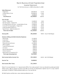 Income Statement Or Profit And Loss Trading Account Purpose