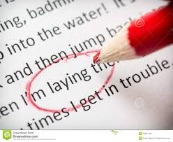 proofreading essay errors stock image image of paper  proofreading essay errors
