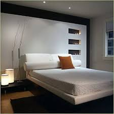 ... Cool Home Interior Design For Decorating Small Bedrooms : Incredible  Design With White Leather Upholstered Headboard ...