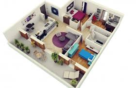 4 bedroom house designs. Gorgeous Free 3 Bedrooms House Design And Lay Out Simple Plan With 4 3d Pictures Bedroom Designs
