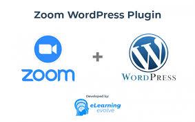 zoom wordpress plugin by elearning evolve