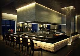 Restaurant Kitchen Design Kitchen Dazzling Open Kitchens Restaurants Design Open Kitchen