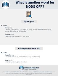 Lightly Synonym Synonyms For Nods Off Antonyms For Nods Off Thesaurus Net