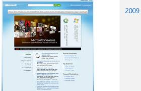 Micro Soft Home Page Visualized 20 Years Of Microsofts Homepage Neowin
