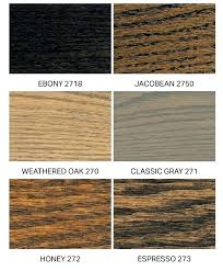 Minwax Oil Based Stain Color Chart Minwax Wood Stains Colors Tradewindscandle Co