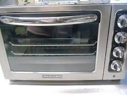 kitchenaid 1440 watts counter top toaster oven kco222ob