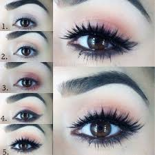 steps of cute eye makeup