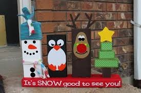 60 Of The BEST Christmas Decorating Ideas  2x4 Wood Decoration Diy Christmas Wood Crafts