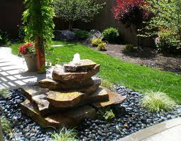 Outside Water Fountain Designs Cheap Stone Water Fountains For Backyard Garden Garden