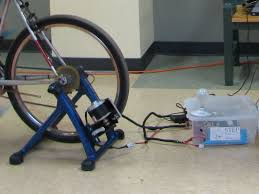 how to make a simple electric generator. Functional Prototype Of The STEP Bicycle Generator. How To Make A Simple Electric Generator