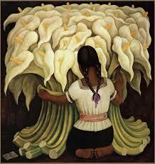 famous hispanic painting mujer con girasoles go rivera go rivera famous