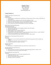 Basic Resume Openoffice Template Sample Cover Letter Download