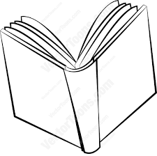 1024x1018 simple drawing of an open book