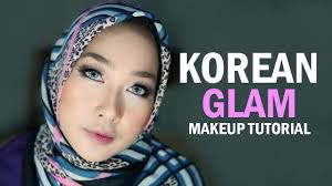 korean glam makeup tutorial indonesia dian ayu