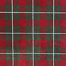 macgregor red tartan rug