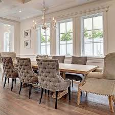 amazing tufted back dining chair 9 dining room