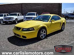 Carlisle Motors / 2003 Ford Mustang SVT Cobra 1FAFP48Y43F345479 ...