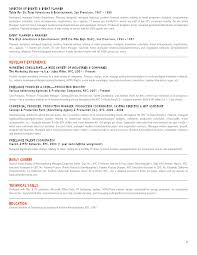Jules Miller Events Resume Advertising Account Director Resume Samples