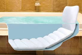 bathtub pillows
