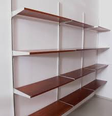 living room stunning wall mounted shelves 20 square minimalist 600x827 trendy wall mounted shelves 24