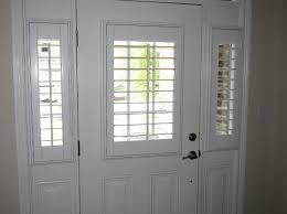 front door windowEntry Door Sidelight Window Shutters  Cleveland Shutters