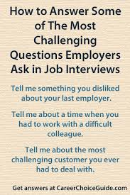 Questions To Ask At Job Interview Answering Difficult Interview Questions
