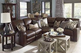 high back leather sectional sofa