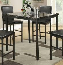 Marmor Esstisch Set Granit Küche Tisch Schwarz Esstisch Zum