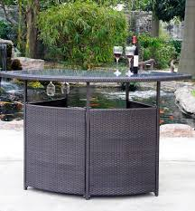 outdoor bar set prbs table hotel furniture furnishings throughout wicker plans architecture outdoor wicker
