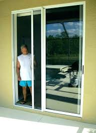 sliding glass door screen retractable screen door home design retractable screen door glass door with screen