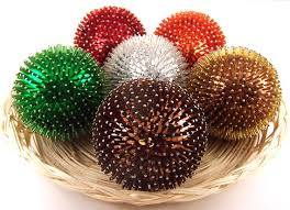 Decorative Balls For Bowl Decorative Balls Pins bugle beads Ball Sequin Balls 7