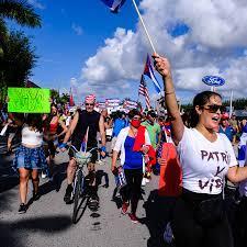Miami Embraces Cuba Protests: 'I Never ...