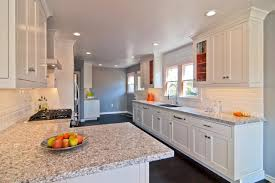 white galley kitchens. Timeless White Galley Kitchen With Bold Orange Accents Hgtv White Galley Kitchens