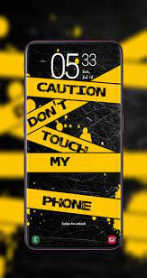 Don't Touch My Phone Wallpaper HD+ 2020 ...