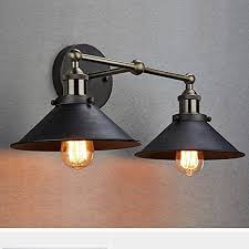 industrial bathroom lighting. claxy ecopower industrial edison simplicity 2 light wall mount sconces aged steel finished bathroom lighting i