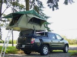 Roof Top Tent on Truck Bed | Pickup Truck Camping | Camper ...