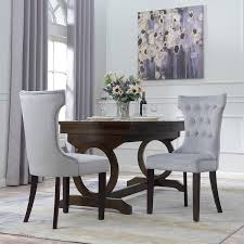 manificent decoration living room chairs set of 2 belleze premium dining chair accent living room nailhead