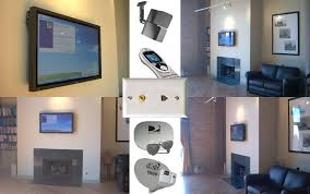 flat screen tv on wall with surround sound. hasproz custom installation - chicago illinois home theater installer plasma lcd tv flat screen tv on wall with surround sound