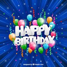 Funny Happy Birthday Card Vector Free Download