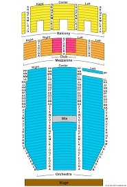 Paramount Theatre Co Seating Chart