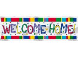 welcome back signs printable free printable welcome home banner printable 360 degree