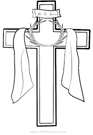 Cross Coloring Pages To Print Cross Coloring Pages Printable