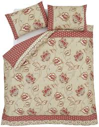 catherine lansfield kashmir cotton duvet cover set double from catherine lansfield