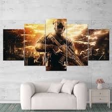 call of duty black ops 2 5 piece canvas wall art gaming canvas 5pccod027 on 2 pc canvas wall art with call of duty black ops 2 5 piece canvas wall art gaming canvas