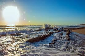 Free Photo Portrait Photography Of Seashore And Sun Sky Seashore