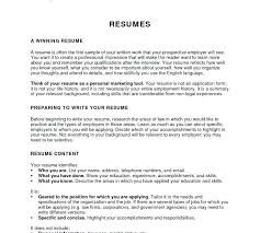 What Should The Summary Of A Resume Include Ability Summary Resume