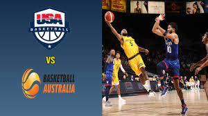 Team USA vs Australia Basketball ...