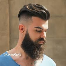 ambarberia undercut big beard haircut by ambarberia