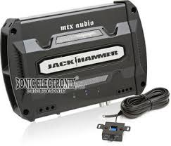 mtx jh202 400w max 2 channel jack hammer series amplifier mtx audio jackhammer jh202