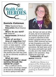 Health Care Heroes | Danielle Eshleman | | tribdem.com